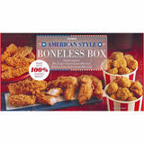 Iceland American Style Chicken Breast Boneless Box 500g