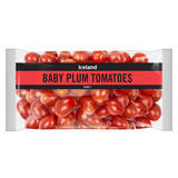 Iceland Baby Plum Tomatoes 340g