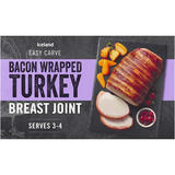 Iceland Bacon Wrapped Basted Turkey Breast Joint 525g