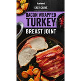 Iceland Bacon Wrapped Turkey Breast Joint 525g