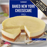 Iceland Baked New York Cheesecake 400g