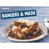 Iceland Bangers & Mash 500g