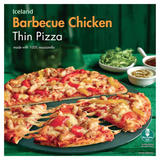 Iceland Barbecue Chicken Thin Pizza 334g