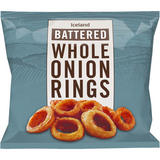 Iceland Battered Onion Rings 475g