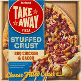 Iceland BBQ Chicken and Bacon Cheese Filled Crust 460g