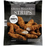 Iceland BBQ Chicken Breast Fillet Strips 600g