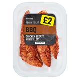 Iceland BBQ Chicken Breast Mini Fillets 170g