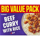 Iceland Beef Curry with Rice 500g