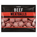 Iceland Beef Meatballs 600g