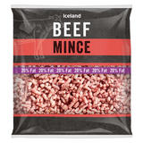 Iceland Beef Mince 20% Fat 700g