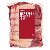 Iceland Beef Sirloin Roasting Joint 1.2kg
