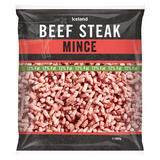 Iceland Beef Steak Mince 12% Fat 550g