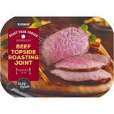 Iceland Beef Topside Roasting Joint 650g