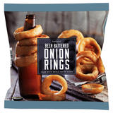 Iceland Beer Battered Onion Rings 475g