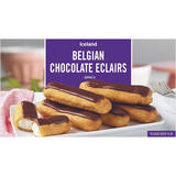 Iceland Belgian Chocolate Eclairs 160g