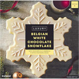 Iceland Luxury Belgian White Chocolate Snowflake 550g