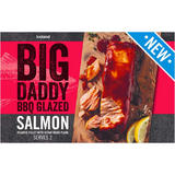 Iceland Big Daddy BBQ Glazed Salmon - Atlantic Fillet with Cedar Wood Plank 245g