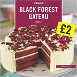 Iceland Black Forest Gateau 600g