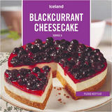Iceland Blackcurrant Cheesecake 460g