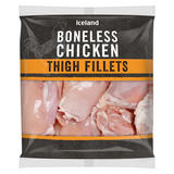 Iceland Boneless Chicken Thigh Fillets 800g