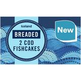 Iceland Breaded 2 Cod Fishcakes 270g