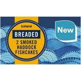 Iceland Breaded 2 Smoked Haddock Fishcakes 270g