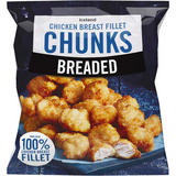 Iceland Breaded Chicken Breast Fillet Chunks 540g