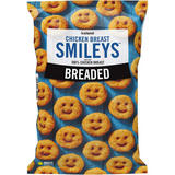 Iceland Breaded Chicken Breast Smileys 356g