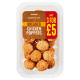 Iceland Breaded Chicken Poppers 200g