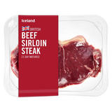 Iceland British Beef Sirloin Steak 170g