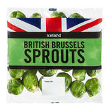 Iceland British Brussels Sprouts 500g