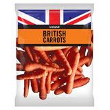 Iceland British Carrots 880g