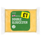 Iceland British Double Gloucester Cheese 180g