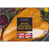 Iceland British Easy Carve Butter Basted Turkey Crown 2kg
