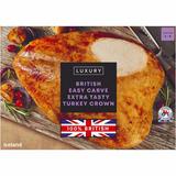 Iceland Luxury British Easy Carve Extra Tasty Turkey Crown 2kg