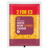 Iceland British Grated Mature Coloured Cheddar Cheese 250g