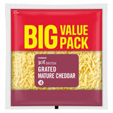Iceland British Grated Mature White Cheddar Cheese 430g