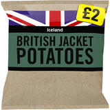 Iceland British Jacket Potatoes 2.5kg