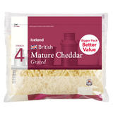 Iceland British Mature Cheddar Grated Cheddar Cheese 450g