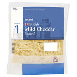 Iceland British Mild Cheddar Grated Cheese 250g