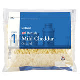 Iceland British Mild Cheddar Grated Cheese 450g