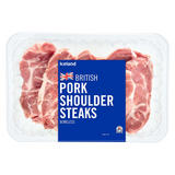 Iceland British Pork Shoulder Steaks Boneless 600g