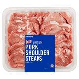 Iceland British Pork Shoulder Steaks Boneless