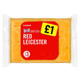 Iceland British Red Leicester Cheese 180g
