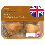 Iceland British Roasted Chicken Thighs 420g