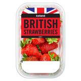 Iceland British Strawberries 350g