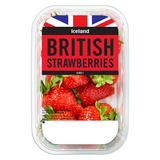 Iceland British Strawberries 400g