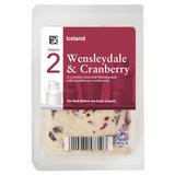 Iceland British Wensleydale & Cranberry 200g
