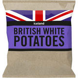 Iceland British White Potatoes 2.5kg