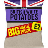 Iceland British White Potatoes 3.5kg